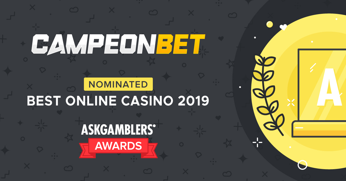 CampeonBet nominated for Best Online Casino 2019 at the AskGamblers Awards 2020!