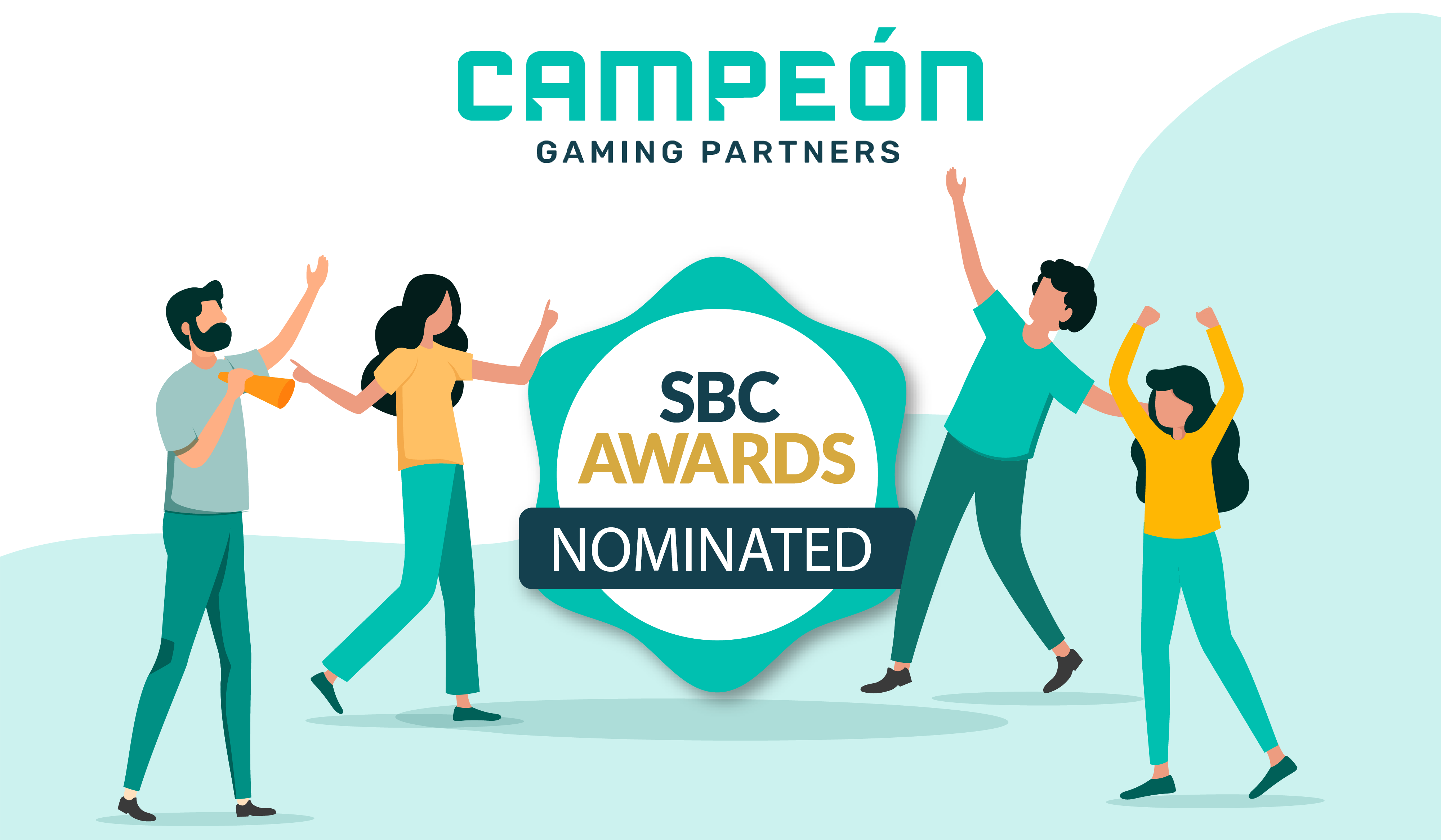 Campeón Gaming Partners nominated in 3 categories at the SBC Awards 2019